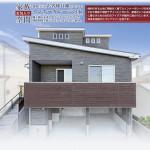 傾斜のある土地に無駄なく建てたインナーガレージの住宅 木材や間取り照明デザインにこだわり、家族がいつも快適 に暮らすための白石のアイデアが随所に施されています。 将来を見据えたバリアフリー住宅です。