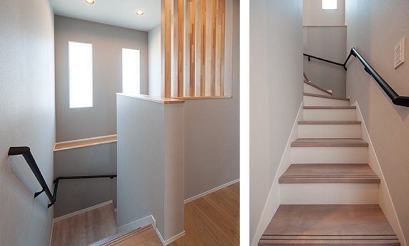 階段とホール