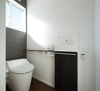 子世帯の2階トイレ