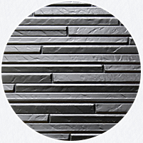 非常に優れた防水性と高い断熱性のある金属サイディングの外壁。