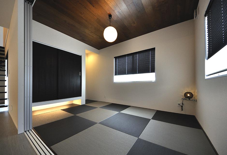 モダンな琉球畳の和室