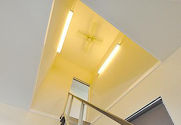 階段の天井