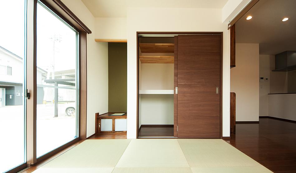 琉球畳の和室