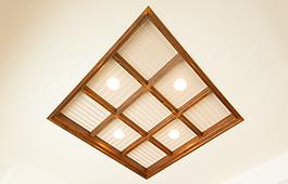 和室天井の飾り照明