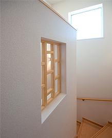 階段の格子