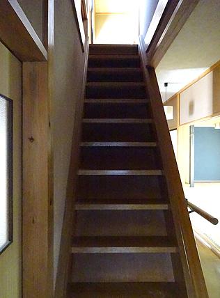リフォーム前 階段