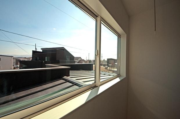 布団が干せる屋根