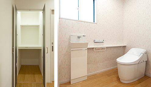 納戸と2階トイレ