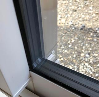 三重構造の窓サッシ