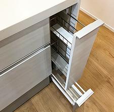 追加のキッチン収納