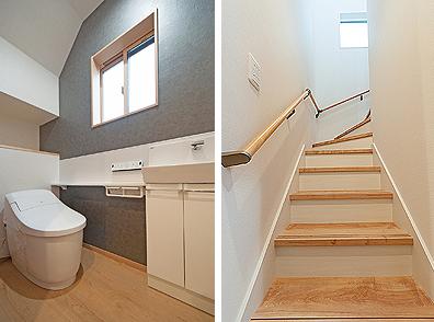 1Fトイレと階段