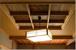 2F 和室天井