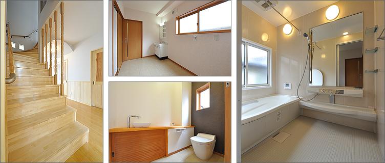 階段/洗面所/トイレ/バスルーム